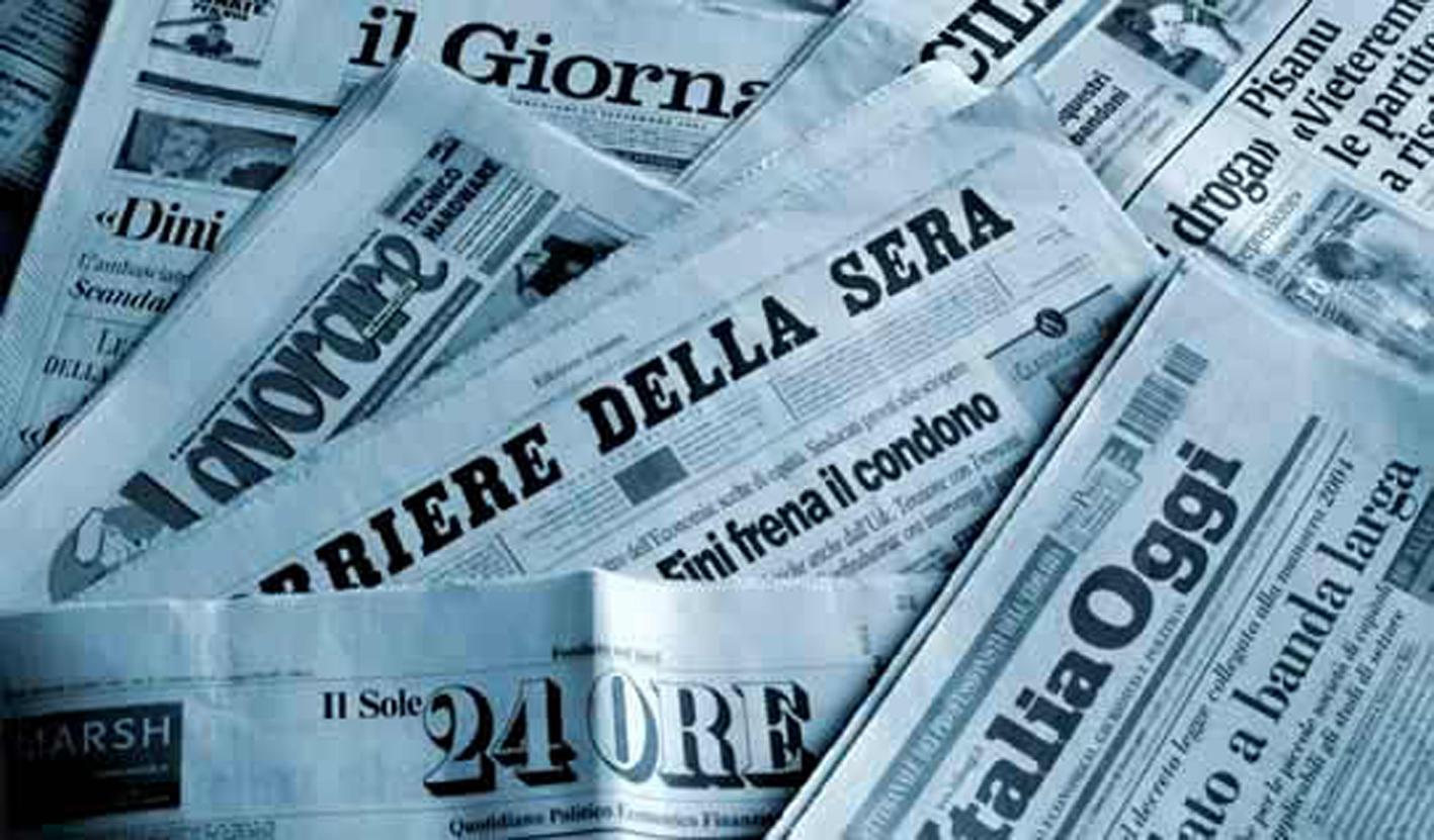 Giornali per aticolo linguaggio media