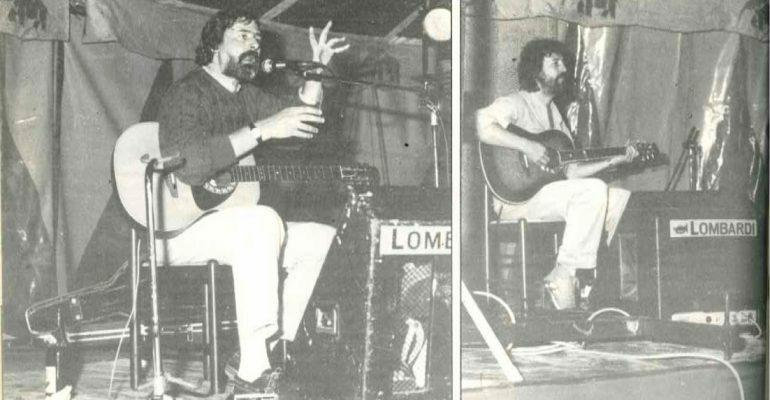 Francesco-Guccini-con-il-chitarrista-Flaco-concerto-1986-Porto-Azzurro-blog-ProsMedia