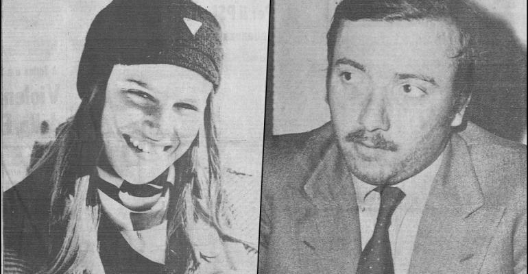 Milena Sutter e Lorenzo Bozano, 1971